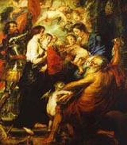 madonna with the saints 1638 1640 XX antwer belgium